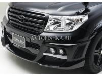 Toyota LAND CRUISER 200 (07-11) Бампер WALD BLACK BISON передний
